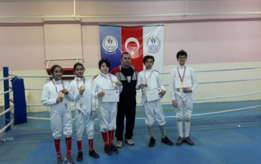 ESKRİM BRANŞINDAKİ BAŞARIMIZ (Our Success in Fencing)