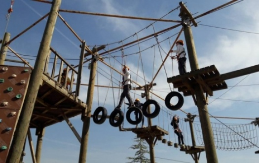 Macera Parkuru, Tırmanma Duvarı ve Zipline Aktiviteleri