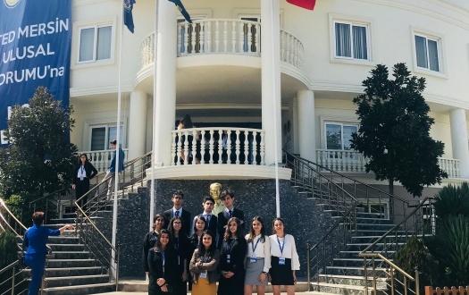 Liselilerimiz TED Mersin Ulusal Gençlik Forumu'na Katıldı (Our High School Students participated in TED Mersin National Youth Forum)