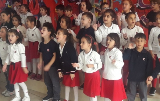 1. Sınıflarımızdan Okula Merhaba Konseri