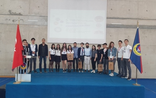 """Lisemizin TED İnovasyon ve Girişimcilik Fuarı'ndaki Başarısı """"The Success of Our High School in TED Innovation and Entrepreneurship Fair"""""""