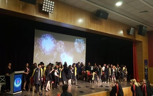 "2018 MEZUNLARIMIZI UĞURLADIK ""We saw off 2018 Graduated Students """