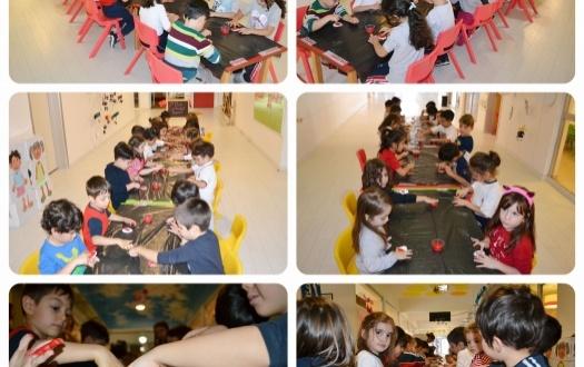 """Ana Sınıfı Cumhuriyet Bayramı'nı Kutluyor """"The Kindergarten Celebrates The Republic  Day Of Turkey"""""""