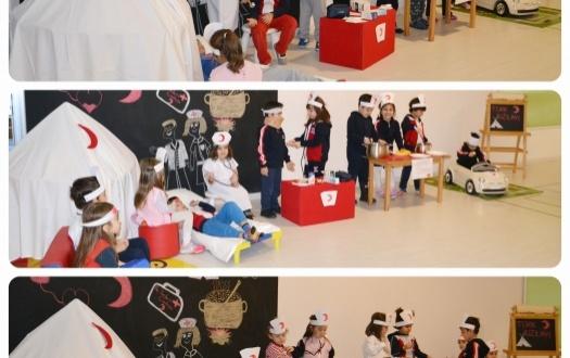 "Minik Kızılay Ekibi ""Junior Red Crescent Team"""