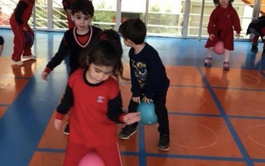 Ana Sınıfı Öğrencilerimiz Oyun ve Fiziksel Etkinlik Dersinde